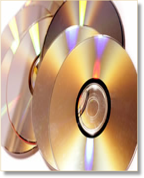 Audio CDs used for recordings for blind people